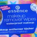 essence makeup remover wipes – waterproof makeup (design edition)