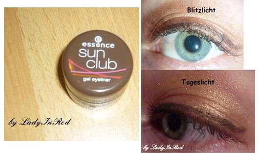 essence sun club gel eyeliner, Farbe:02 BBC all night brown (Bondi Beach LE)