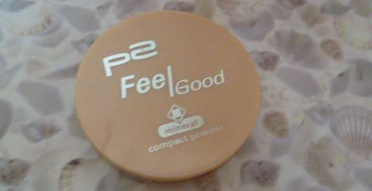 p2 feel good mineral compact powder, Nuance: 010 nude feather