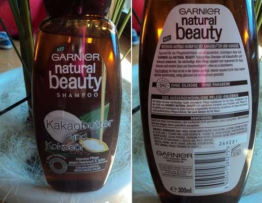 Garnier natural beauty Shampoo Kakaobutter & Kokosöl