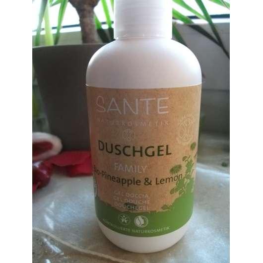 Sante Naturkosmetik Duschgel Family Bio-Pineapple & Lemon
