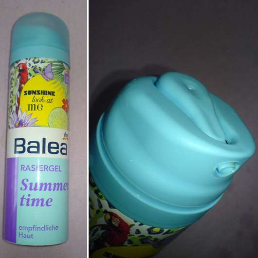 "Balea Rasiergel ""Summertime"" (Limited Edition)"