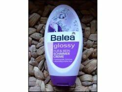 Produktbild zu Balea Glossy Fuß & Bein Schimmer Creme