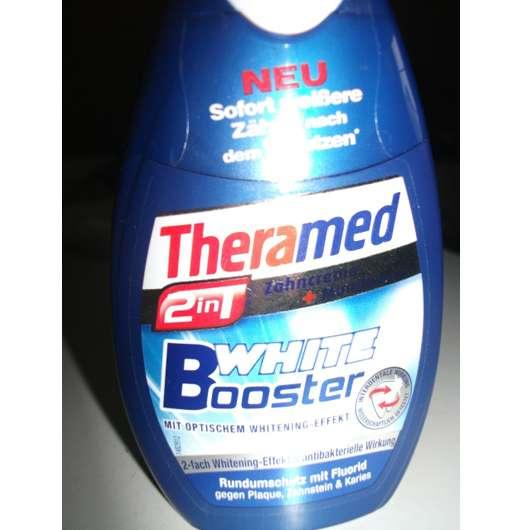 Theramed 2in1 White Booster Zahncreme + Mundwasser