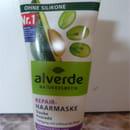 alverde Repair-Haarmaske Traube und Avocado