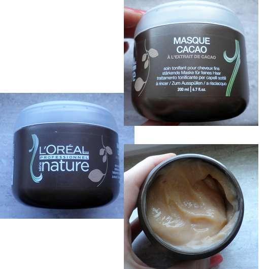 L'Oréal Professionnel série nature Kakao Maske