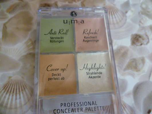 u.m.a. Professional Concealer Palette