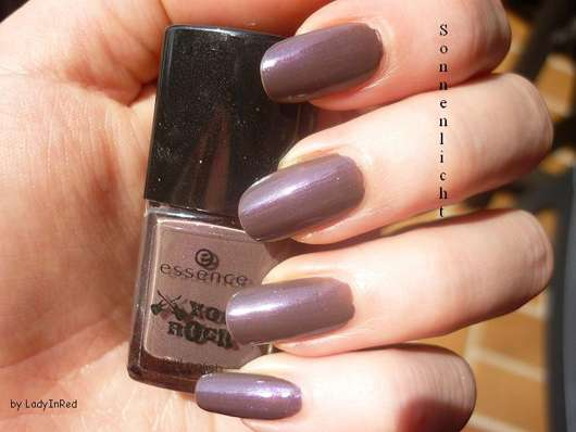 "essence ""you rock!"" nail polish, Farbe: 02 love, peace and purple (Limited Edition)"