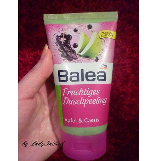"""Balea Fruchtiges Duschpeeling """"Apfel & Cassis"""" (Limited Edition)"""
