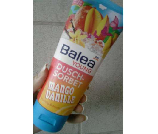 "Balea Young Dusch-Sorbet ""Mango Vanille"" (Limited Edition)"