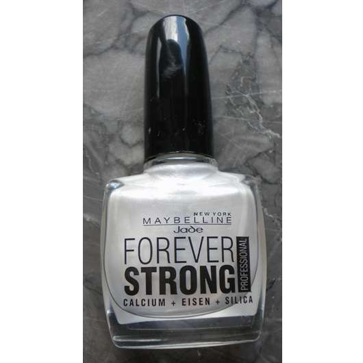 Maybelline Jade Forever Strong Professional Nagellack, Farbe: 77 Pearly White