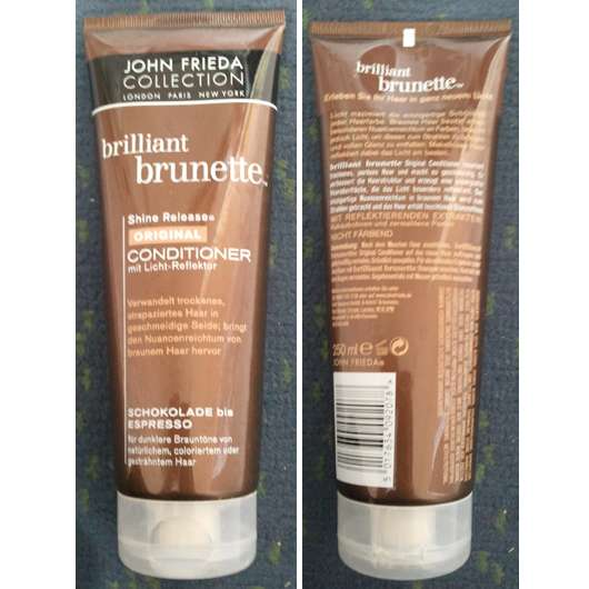 John Frieda Collection Brilliant Brunette Shine Release Original Conditioner