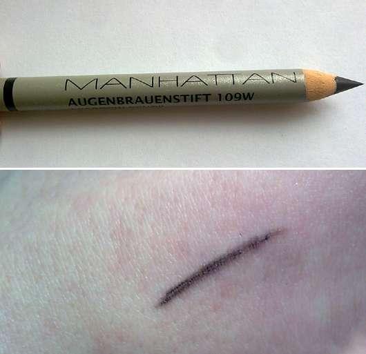Manhattan Augenbrauenstift, Farbe: 109W (Schwarz)