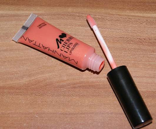 Manhattan Loves Cherry Lips Lipgloss, Farbnr.: 32K (Limited Edition)