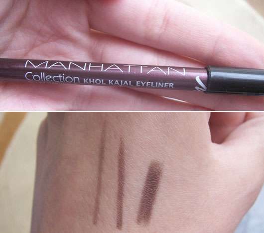 Manhattan Collection Khol Kajal Eyeliner, Farbe: Plum Brownie