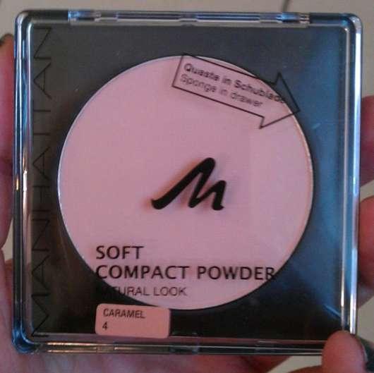 Manhattan Soft Compact Powder, No.: 04 caramel