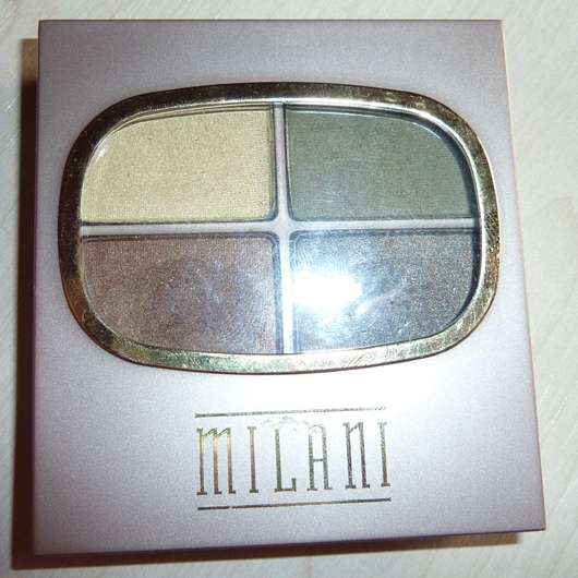 Milani Quad Eye Shadow, Farbe: 04 Earthly Delights