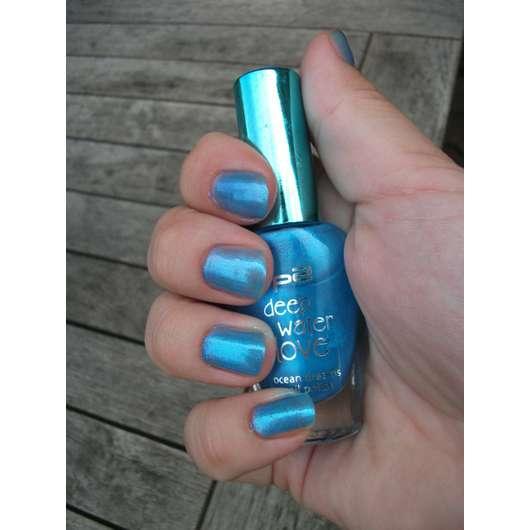 p2 deep water love nail polish, Farbe: 030 blue horizon (Limited Edition)