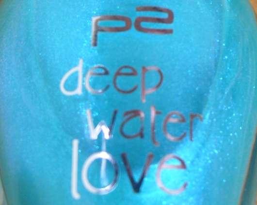 p2 deep water love ocean dreams nail polish, Farbe: 020 green lagoon (Limited Edition)