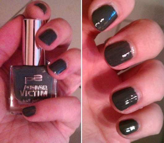 p2 color victim nail polish, Farbe: 720 glory