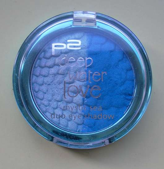 p2 deep water love mystic sea duo eye shadow, Farbe: 030 Poseidon (Limited Edition)