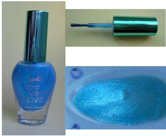 p2 deep water love ocean dreams nail polish, Farbe: 030 blue horizon (LE)
