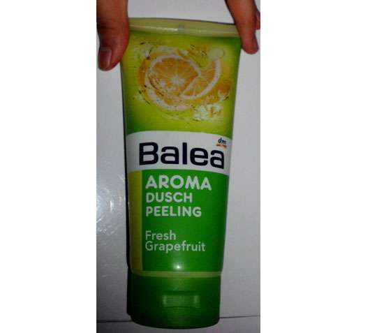 "Balea Aroma Duschpeeling ""Fresh Grapefruit"""
