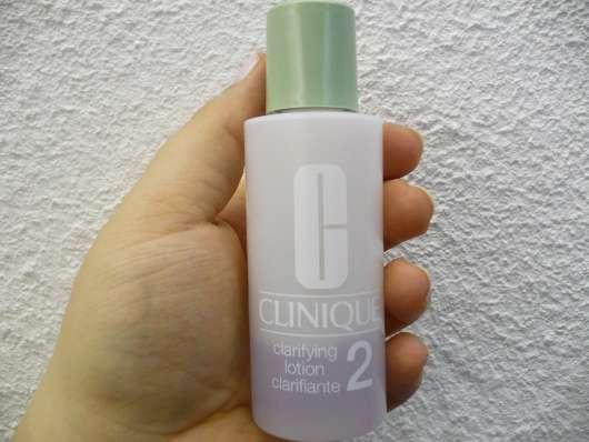 Clinique Clarifying Lotion (Hauttyp 2)