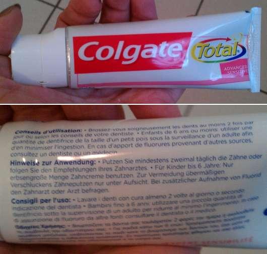 Colgate Total Sensitive Zahncreme