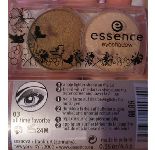 essence duo eyeshadow, Farbe: 03 all time favorite