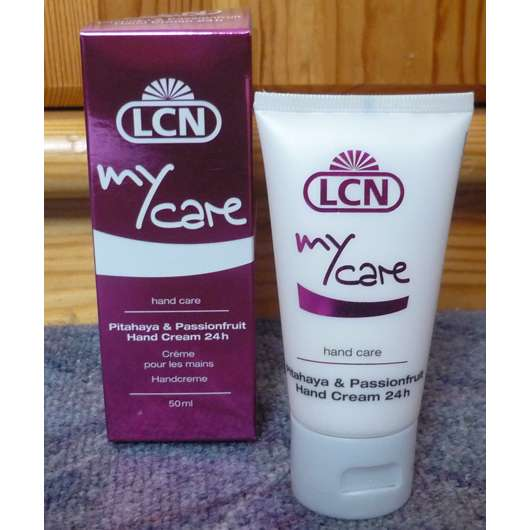 LCN my care hand care Pitahaya & Passionfruit Hand Cream 24h