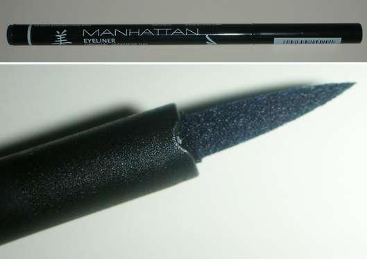 Manhattan Eyeliner Original Japanische Tusche, Farbe: Dark Blue 77W
