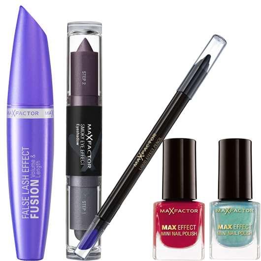3 x 1 Max Factor Make-up Set zu gewinnen
