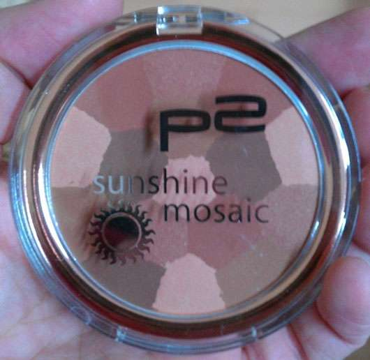 p2 sunshine mosaic bronzer, Farbe: 010 tahiti paradise