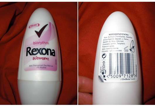 "Rexona Women Deo Roll-On ""Biorythm"""