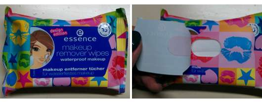 essence makeup remover wipes waterproof (Design Edition)