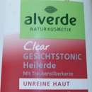 alverde Naturkosmetik Clear Gesichtstonic Heilerde für unreine Haut
