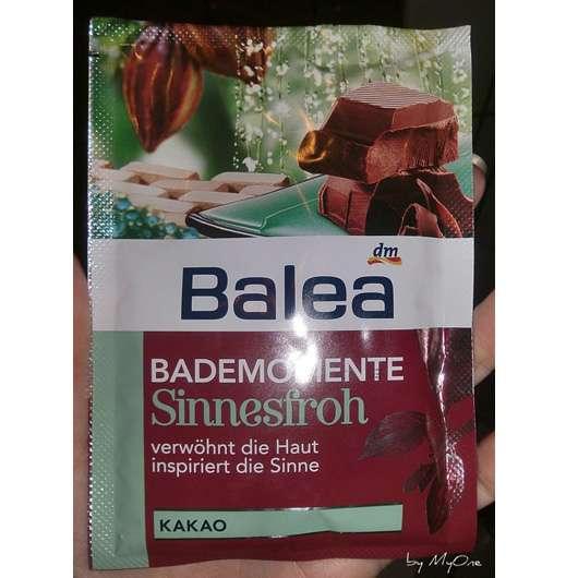 "Balea Bademomente ""Sinnesfroh"" Badesalz Kakao"