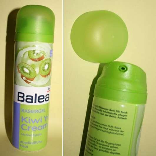 Balea Rasiergel Kiwi 'n' Cream (Limited Edition)