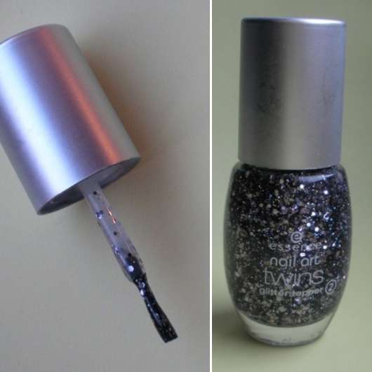 essence nail art twins glitter topper, Farbe: 07 Blair