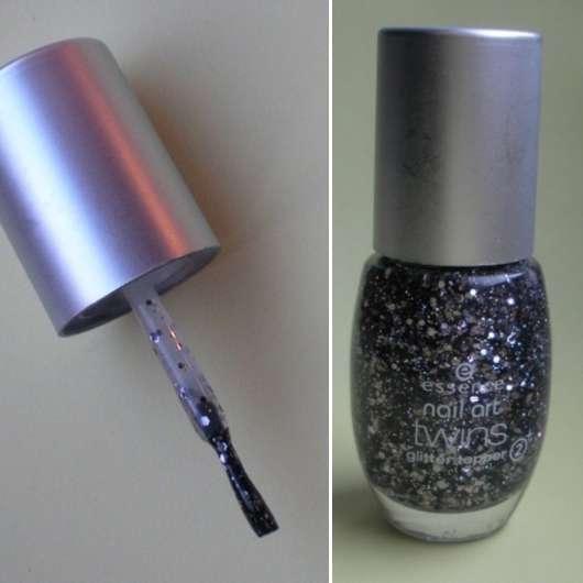 essence nail art twins glitter topper, Farbe: 07 Blair