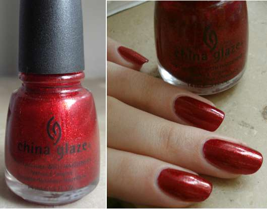 China Glaze Nail Polish, Farbe: 182 Ruby Pumps