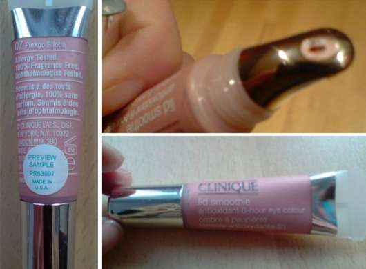 Clinique lid smoothie, Farbe: 07 Pinkgo Biloba