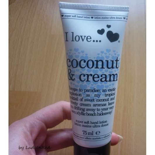 I love… coconut & cream Hand Lotion