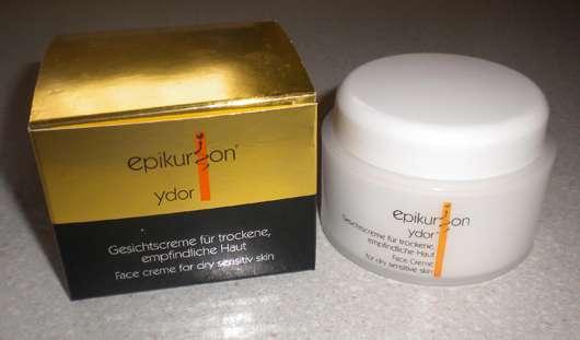epikurion ydor Gesichtscreme für trockene, empfindliche Haut