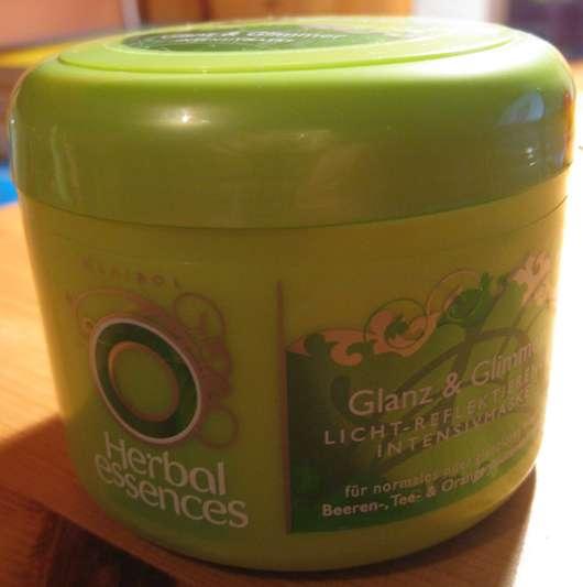 Herbal Essences Glanz & Glimmer Licht-Reflektierende Intensivmaske