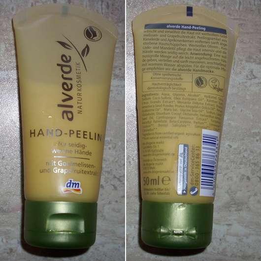 alverde Hand-Peeling