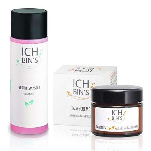 4 x 1 ICH BIN'S Produkt-Set zu gewinnen