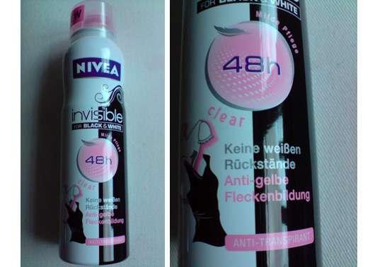 Nivea invisible for Black & White 48h Anti-Transpirant Spray
