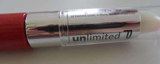 p2 unlimited color lip stain, Farbe: 050 dare to red!